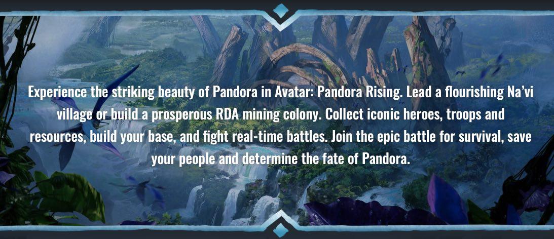 Avatar Pandora Rising hack