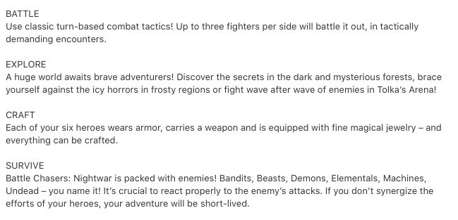 Battle Chasers Nightwar consejos para reparar