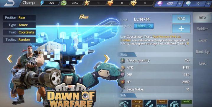 Dawn of Warfare hack