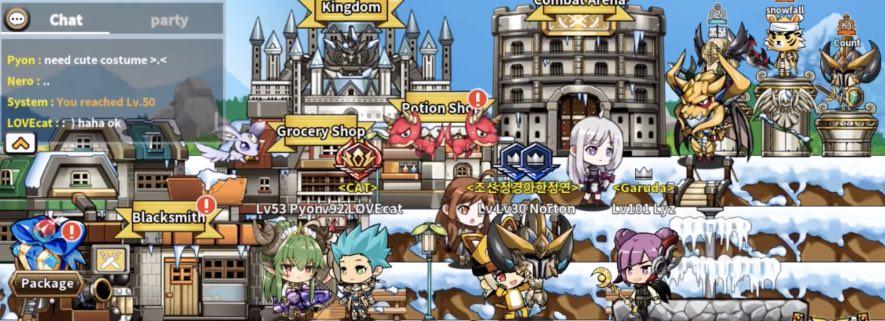 Heroes Town online tips