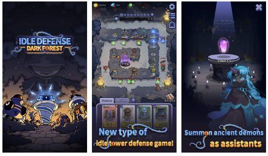 Idle Defense Dark Forest hack
