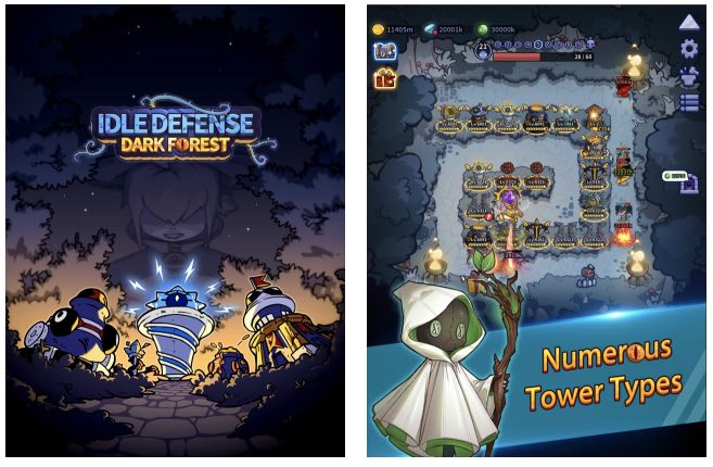 Idle Defense Dark Forest hack