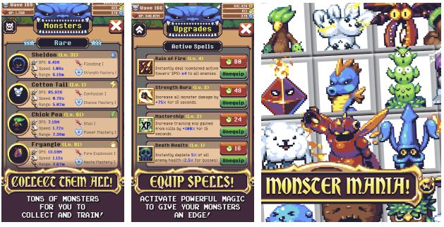 Idle Monster TD wiki