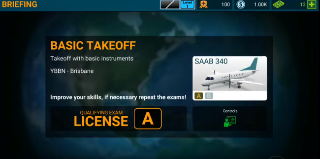 Airline Commander cheats hack code (flight points, money)