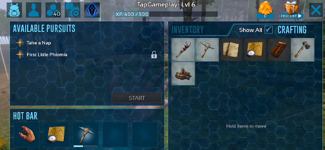 ARK Survival Evolved Mobile cheats code hack (resources, credit, point)
