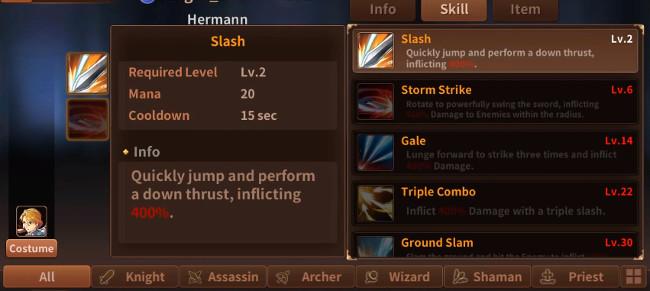 Battle of Souls - skill hack code