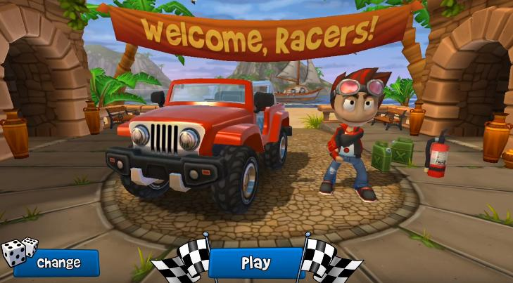 Beach Buggy Racing 2 hack tools