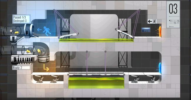 Bridge Constructor Portal hacked