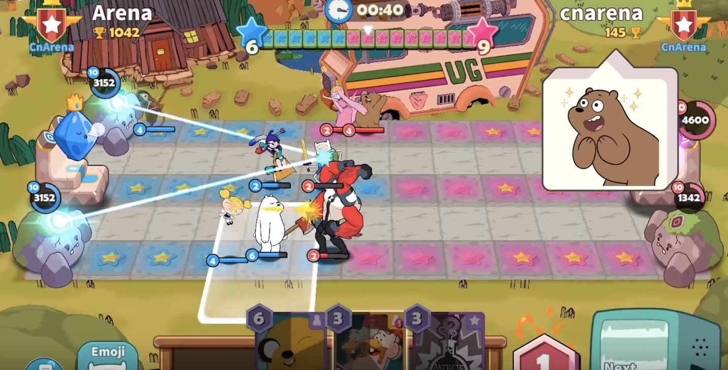 Cartoon Network Arena tutorial
