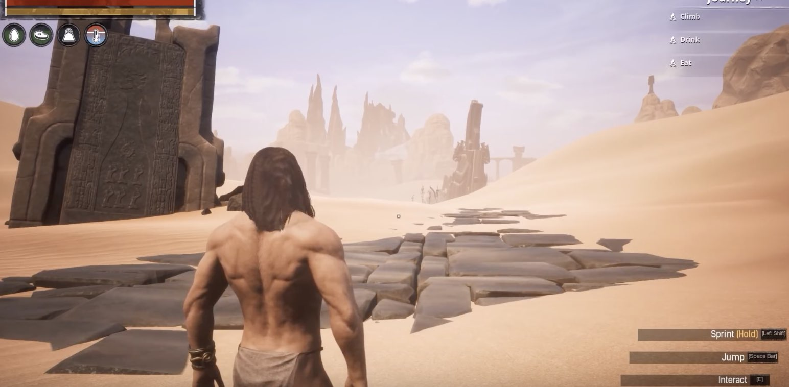 Conan Exiles hack cheats (materials, attribute points, gold