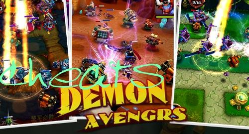 demon avengers cheats
