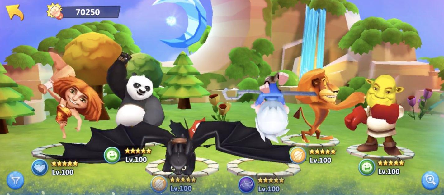 DreamWorks Universe of Legends hack relics