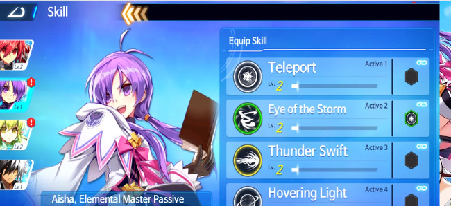 Elsword M Shadow of Luna - legendary weapon