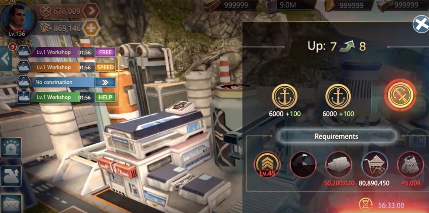 Empire Rise Of BattleShip hack