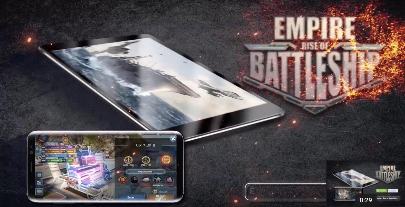 Empire Rise Of BattleShip tutorial