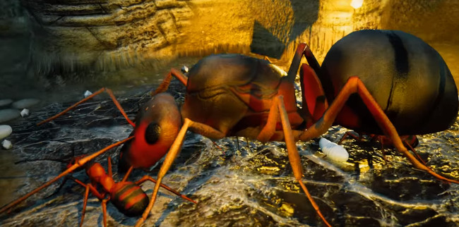Empires of the Undergrowth cheats hack: food, royal jelly