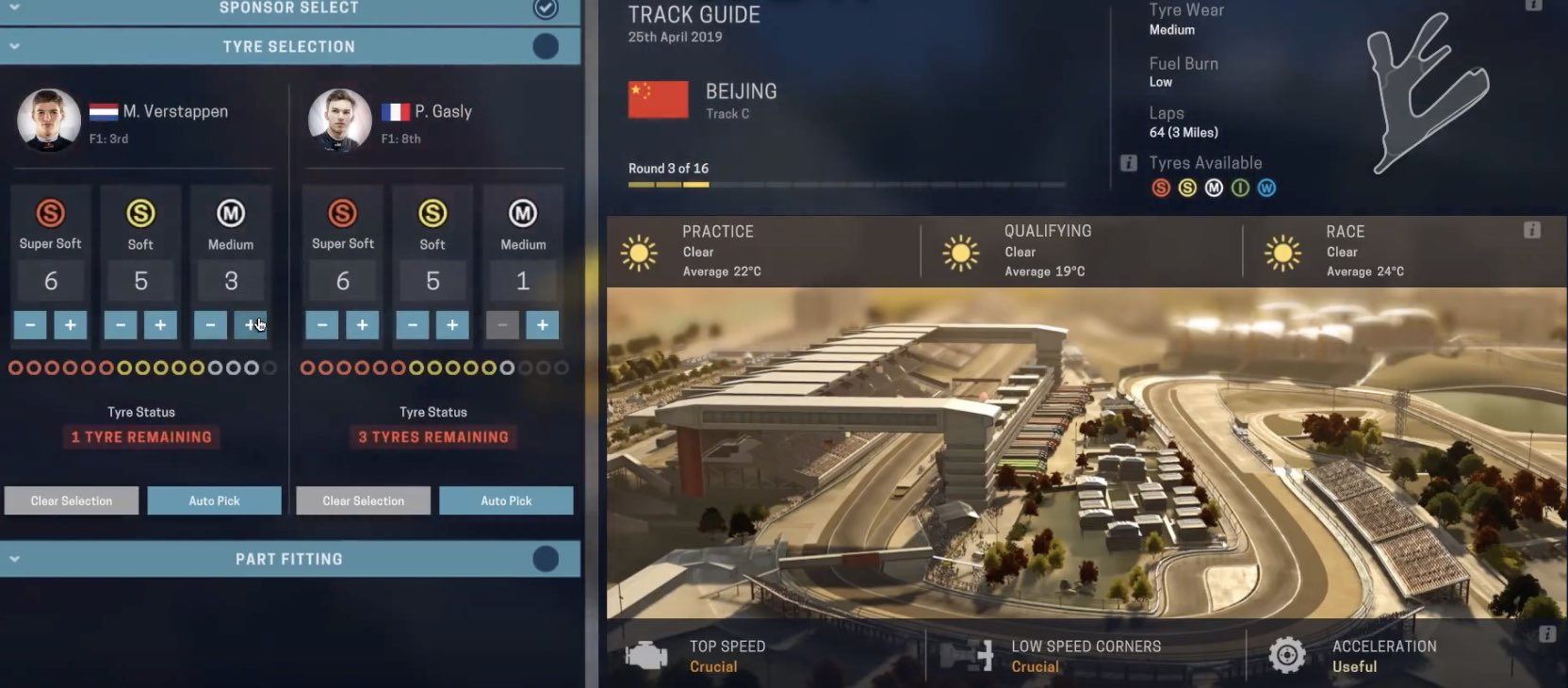 F1 2019 Red Bull Honda Manager tutorial
