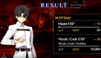 Fate Grand Order mode code