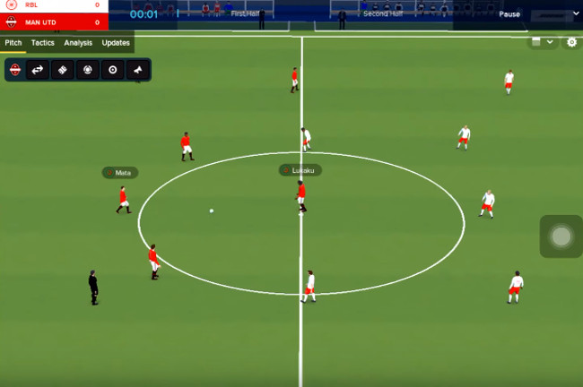 Football Manager Touch 2018 hacked