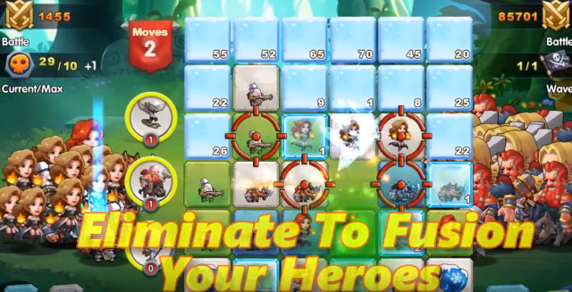 Fusion of Heroes hacked