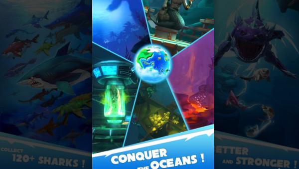 Hungry Shark Heroes hacked