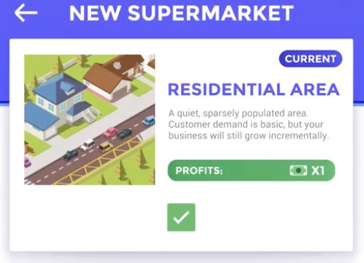 Idle Supermarket Tycoon tutorial
