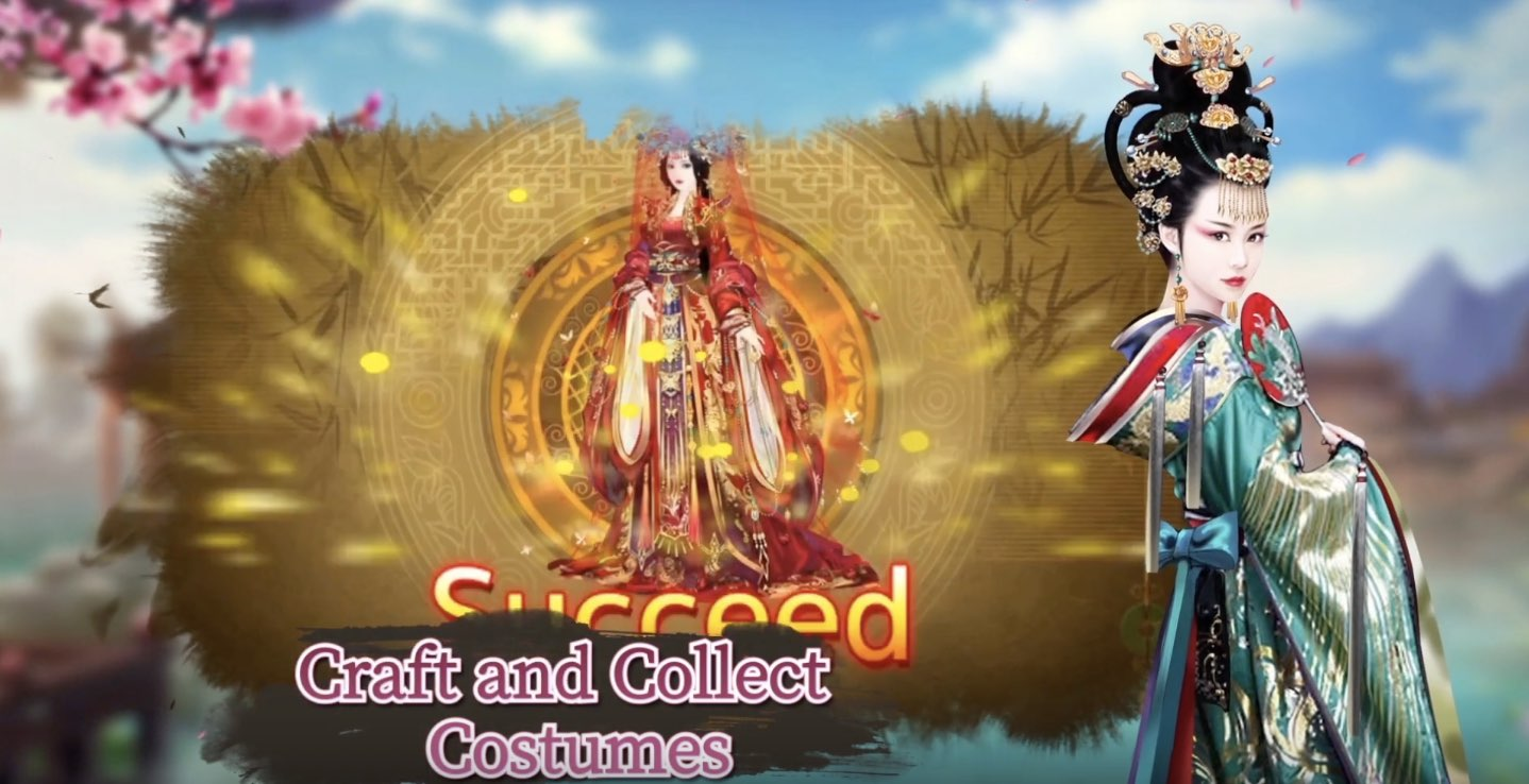 Legend of Empress hack cheats (costumes, gold, chests