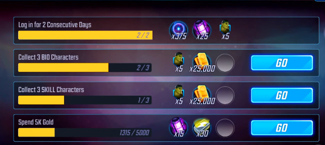 MARVEL Strike Force orbs