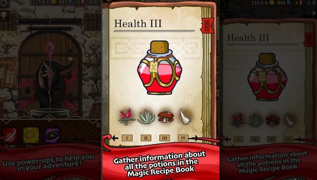 Medieval Clicker Alchemy gift box