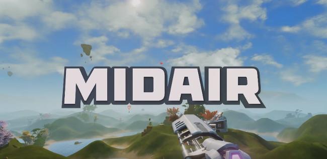 Midair gift box