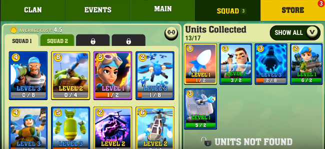 Mighty Battles- elite units