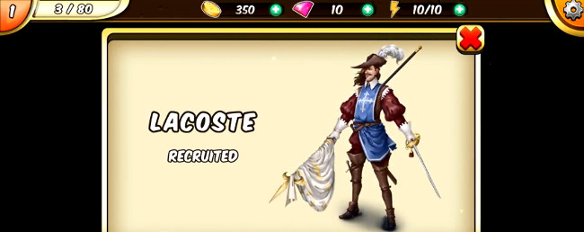 Musketeer Jack gift box
