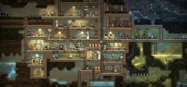 Oxygen Not Included hacked