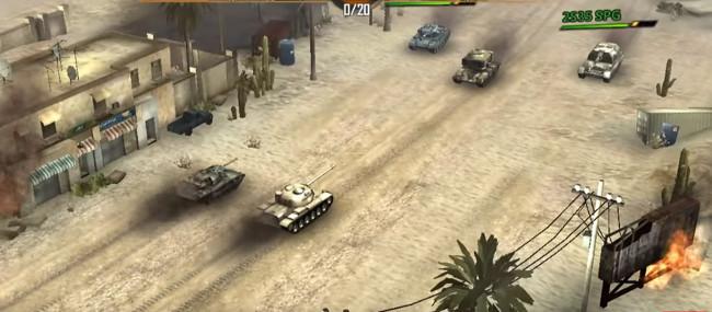 Panzer Storm Modern Warfare gift box