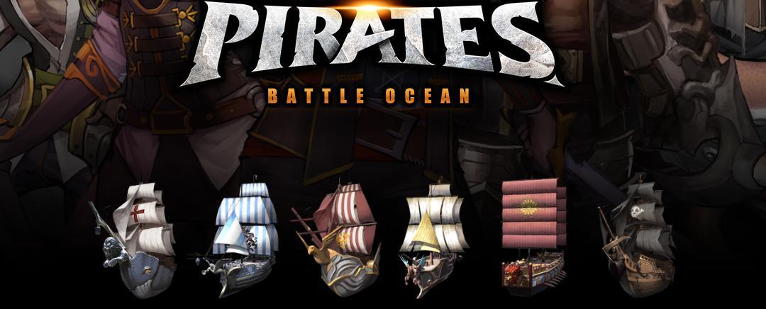 Pirates Battle Ocean tips