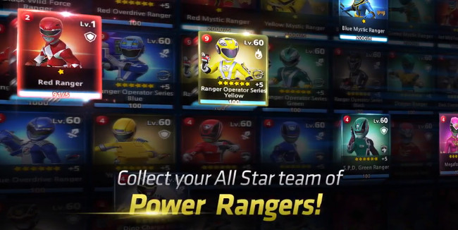 Power Rangers RPG chetas hack: gold, crystal, stamina