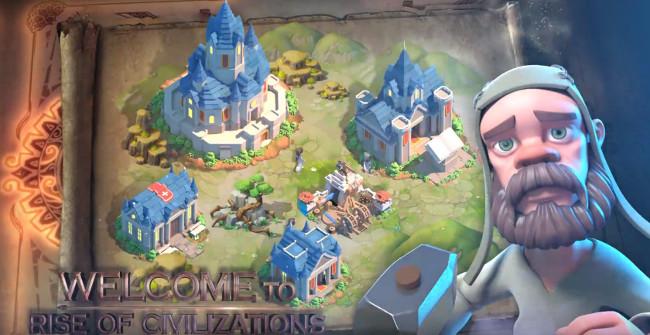 Rise of Civilizations: talent, chest, key, gem, resources