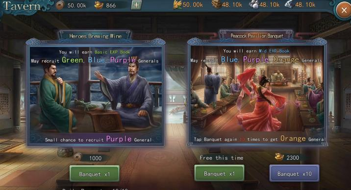 Romance of the Three Kingdoms tips