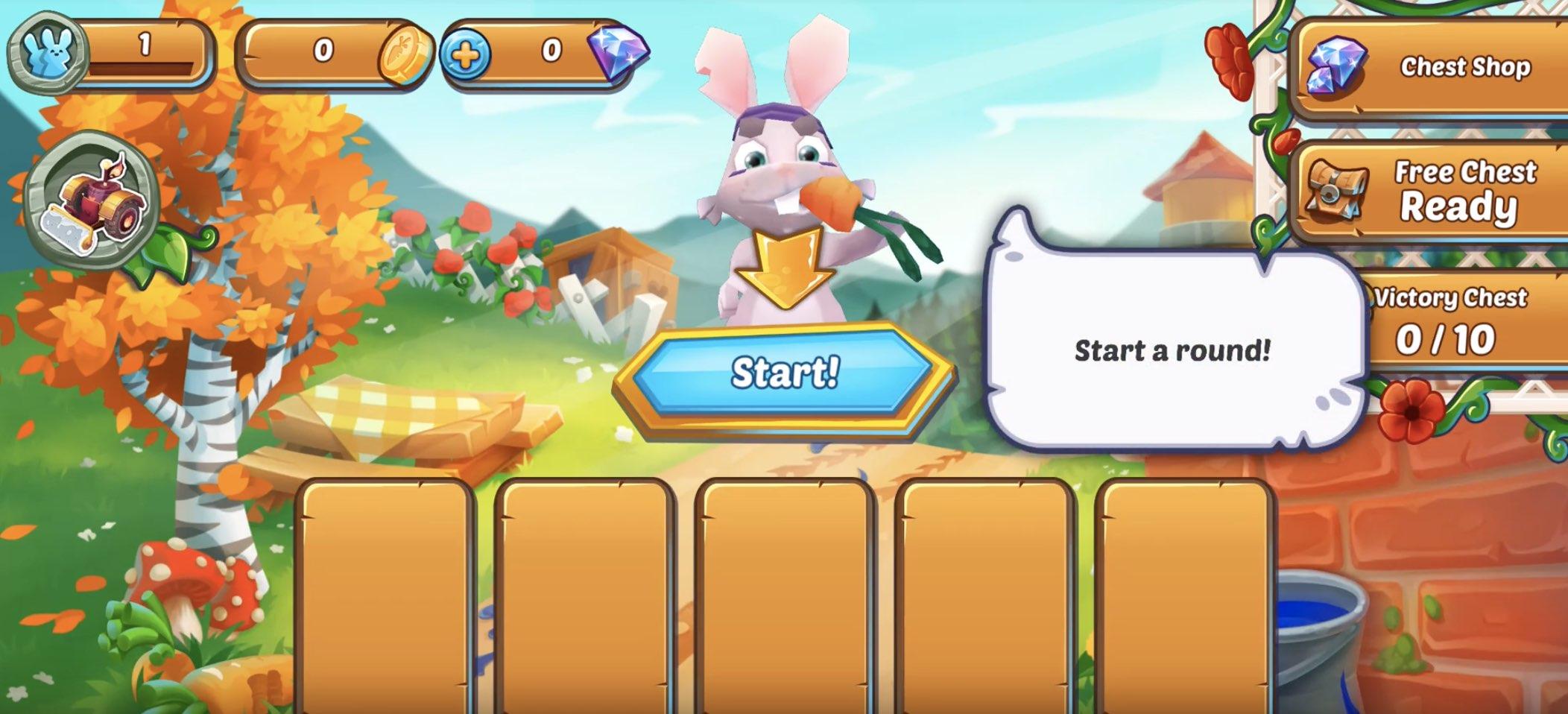 Splash Rabbit Arena hack relics