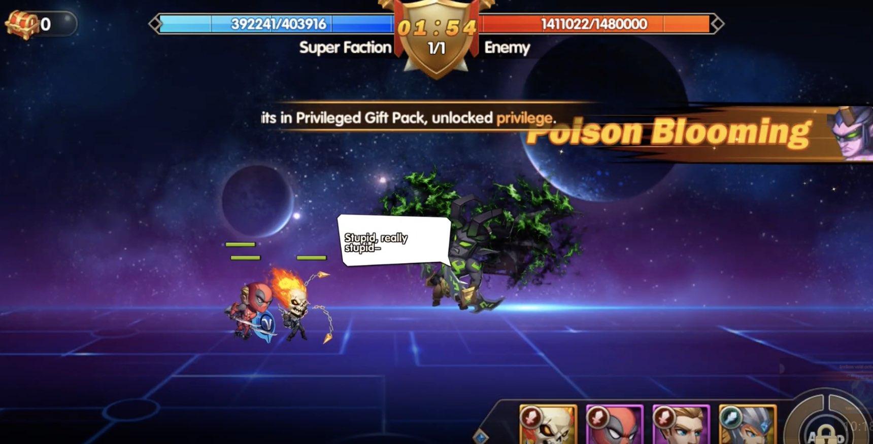 Super Heroes Galaxy hack relics