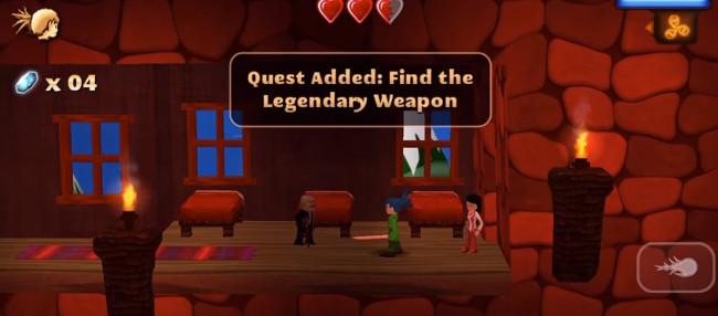 Swordigo - legendary weapon
