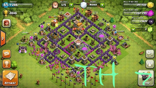 clash of clans th7 picture 1