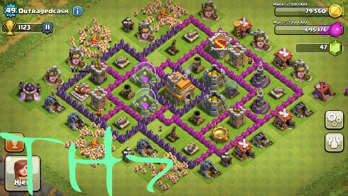 clash of clans th7 picture 2