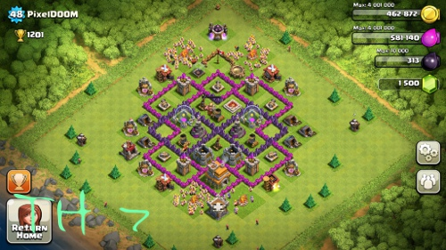 clash of clans th7 picture 3