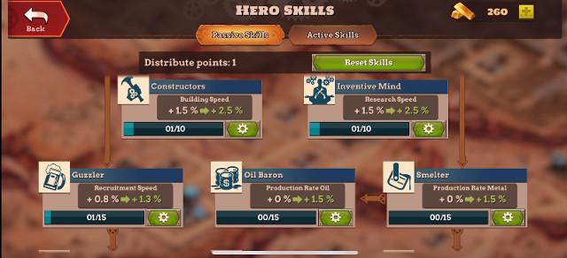 Wild West Steampunk Alliances tips