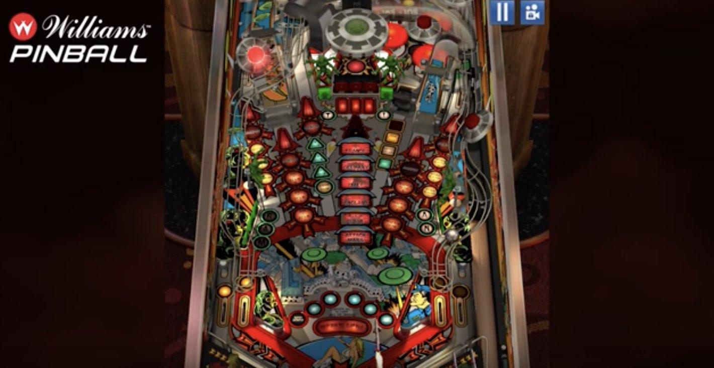 Williams Pinball hack relics