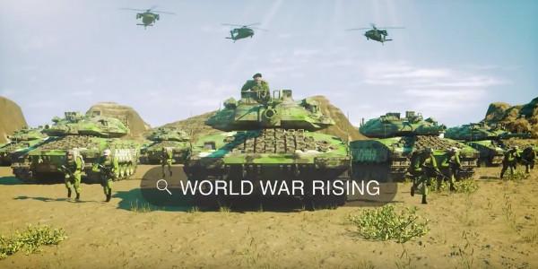 World War Rising hacked