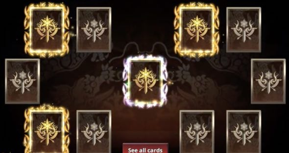 King of Dragons hack month card
