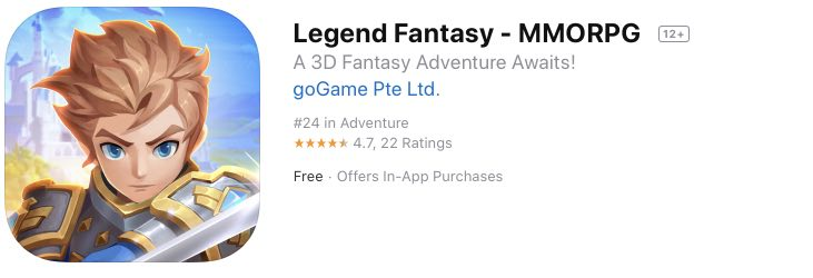 Legend Fantasy tips