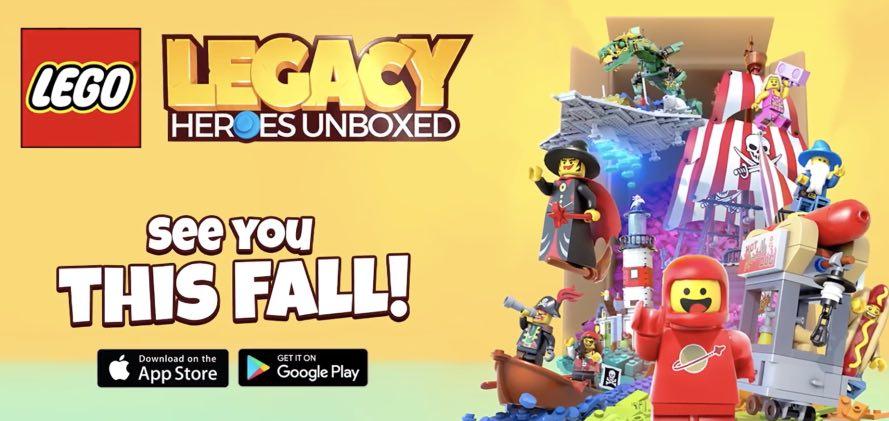 LEGO Legacy Heroes Unboxed tutorial